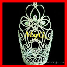 New design charming large tall diamond queen pageant crowns