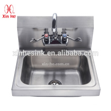 Wall Mounted Stainless Steel Hand Wash Sink for Catering Restaurant