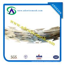 ISO9001 Galvanized Razor Wire Bto-22\Cbt-65\Razor Barbed Wire\Concertina Razor Wire
