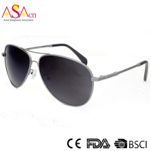 Fashion Classic Simple Polarized Unisex Metal Sunglasses (16030)
