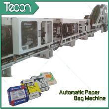 Machine automatique de fabrication de sacs de papier avec 2 couleurs d'impression en ligne (ZT9804 et HD4913)