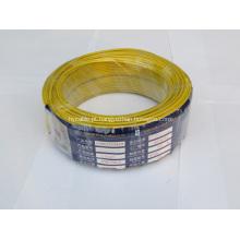 Cabo de fio elétrico isolado único núcleo do PVC