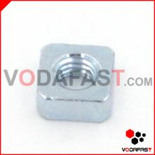 Porca quadrada de aço zincada