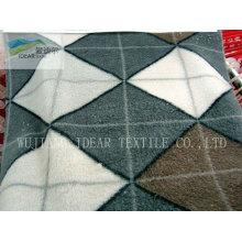 Tela de la felpa del picovoltio impreso para textiles para el hogar 037