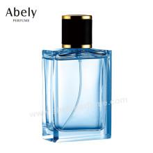 Frasco de perfume de vidro luxuoso de OEM / ODM do desenhista experiente