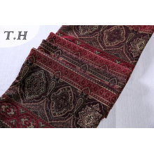 Materiales de tapicería 100% poliéster Tela viscosa en Chenille