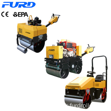 Manufacturer Recommends Small Full Hydraulic Roller Compactor