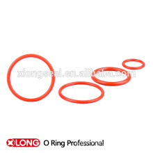 Xiamen supply light red good elasticity o ring seals