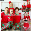 2017 0EM service gestrickte unisex kleidung sets voll gedruckt weihnachten pyjamas familie