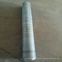 1/2 Inch PVC Coated Galvanized Hexagonal Wire Mesh / Chicken Wire Mesh