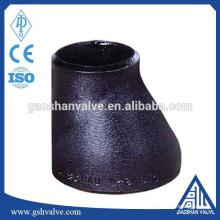 Réducteur de tuyau excentrique en acier à coulée Standard DIN
