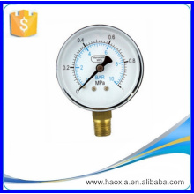 """A melhor qualidade Small Pressure Gauge Series 1/4 """""""