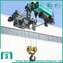 Polipasto eléctrico tipo ND de 3 toneladas con alto rendimiento de trabajo