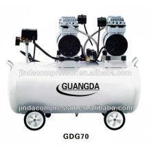 Dentalgeräte CE SGS 80L 680W * 3 geräuschlos Öl freie Luft-Kompressor