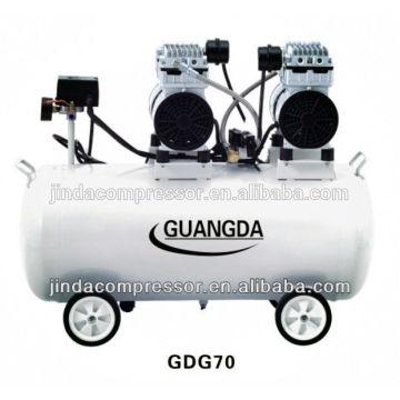 matériel dentaire CE GV 80L 680W * 3 silencieux compresseur sans huile