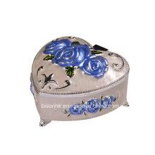 Коробка ожерелья сердца оптовой продажи фабрики, коробка ожерелья формы сердца
