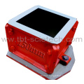 Cuatro piezas ASTM Cuatro piezas Concreto Testing Mold para Compression Test