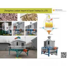 Enfriador utilizado para granulador de aserrín y pellets de alimentos para mascotas