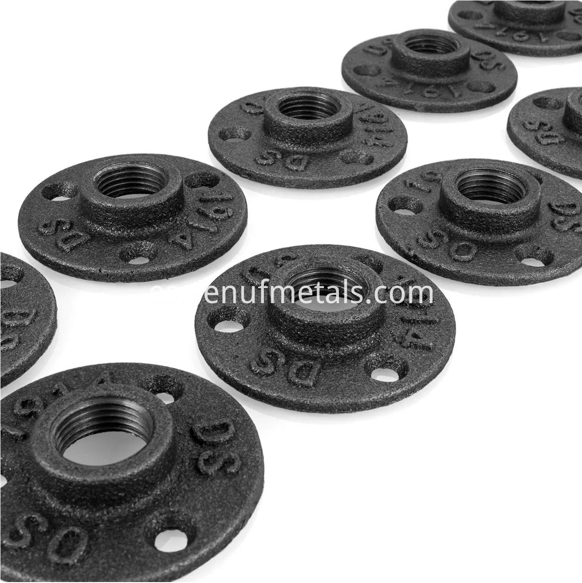 Pipe Flange Industrial Dark Grey Floor Flange (7)
