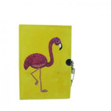 FLAMINGO CLOTH COVER NOTEBOOK-0