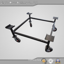 Sturdy Steel Construction for Mover Casters Base
