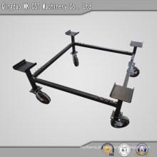 Construção robusta de aço para rodízios Base