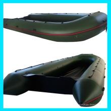 0,9 mm PVC-Speed-Boot, Boot Falten