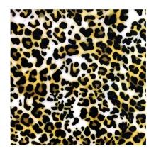 Трикотажная эластичная ткань из полиэстера и спандекса с леопардовым принтом