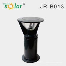 Borne de jardin inox CE lumière solaire pour l'éclairage solaire de jardin/stationnement IP65