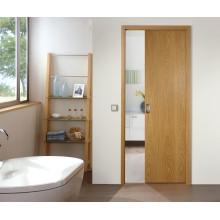 interior de madeira trilho de suspensão porta deslizante