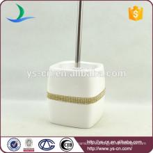 YSb50107-02-tbh dolomita titular cepillo de tocador con diamante de oro