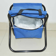 Travel Folding Beach Chair with Cooler Bag