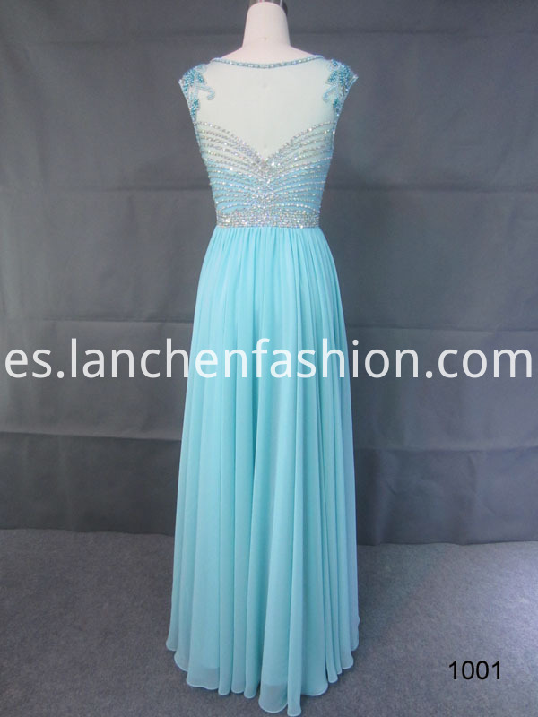 Illusion Evening Dress