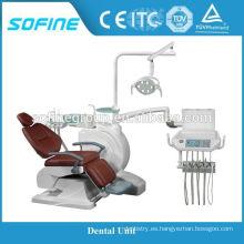 HOT SALE Air Top-Mounted el mejor precio silla dental para clínica