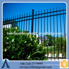 Baochuan fabulous beautiful steel fence/wrought iron/aluminum fence