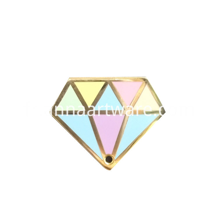 Custom Diamond Shape Pin Badge Buy Diamond Shape Pin Badge Pin Badge 1