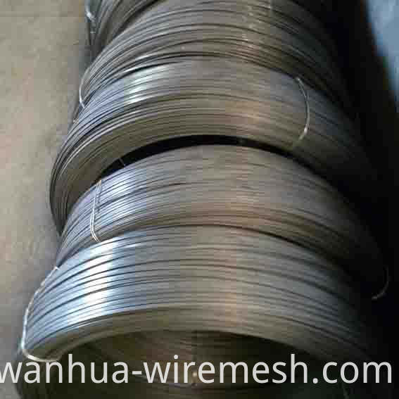 Q235 steel wire rod Galvanized Oval wire