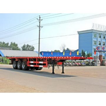32.5tons plate plaque Transport Semi remorque