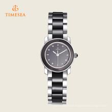 Montre-bracelet en céramique de quartz de haute qualité pour des dames 71132