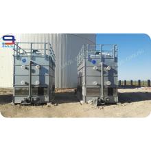Квадратный стояк водяного охлаждения противотечения небольшая градирня для Ректификационной колонны
