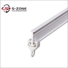 ceiling mount curtain track plastic