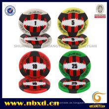 11.5g 2-Tone 3-Streifen Juego ABS Poker Chip