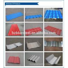 Дешевая цена Строительный материал Металлический кровельный лист Оцинкованная стальная крыша