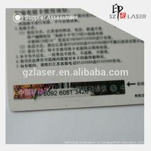 Голограмма черные чернила скрестите стикеры для карточки