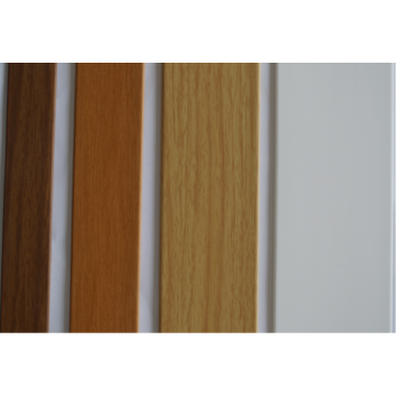 Dark Brown Wooden Grain Venetian Blinds