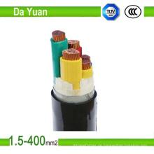 Kupferleiter PVC umhüllte 0.6 / 1kv XLPE Stromkabel