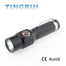 T6 réglable Focus torche led pour la nuit de chasse