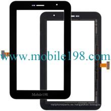 Digitizador de pantalla táctil para Samsung Galaxy Tab 7.0 Plus P6200, P6210