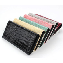 Ladies and Men′s Universal Sublimation Blank Crocodile Wallet