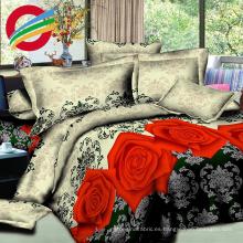 nuevo diseño 100% tela estampada de algodón para juego de sábanas